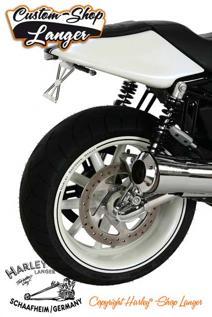 Street Rod Umbau White Pearl RS Custombike