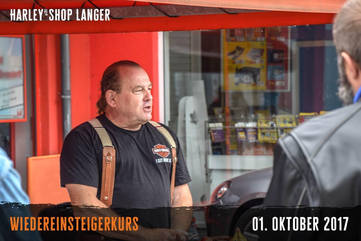 Harley-Shop- Langer Wiedereinsteigerkurs 01. Oktober 2017