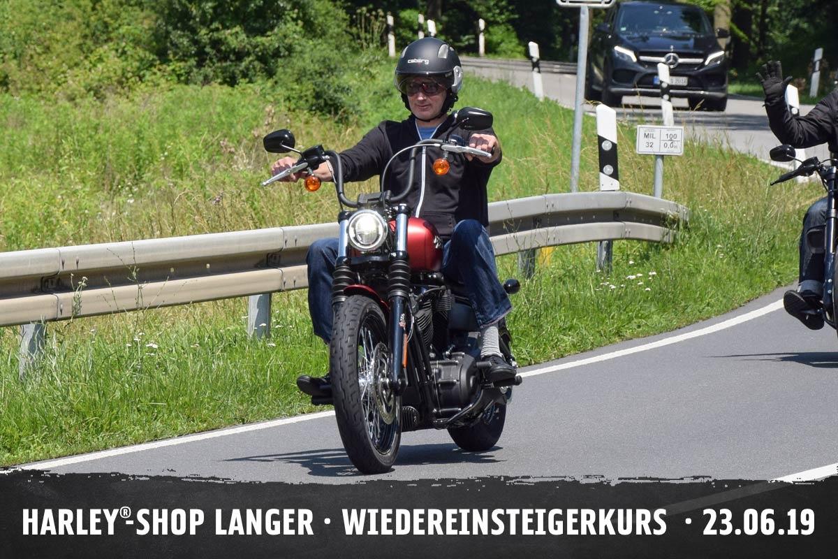 Harley-Shop Langer Wiedereinsteigerkurs 23. Juni 2019